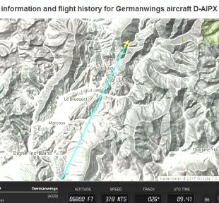 Germanwings 9525 Flightradar24